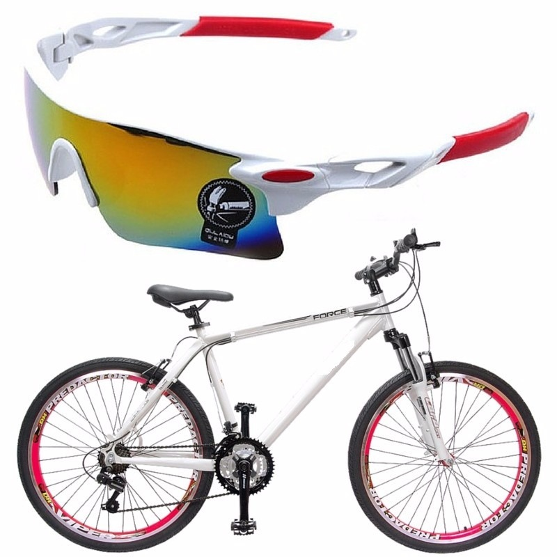c314dc710ce8a Óculos Sol Proteção Bike Corrida Ciclista Vôlei 12x S juros - R  45 ...