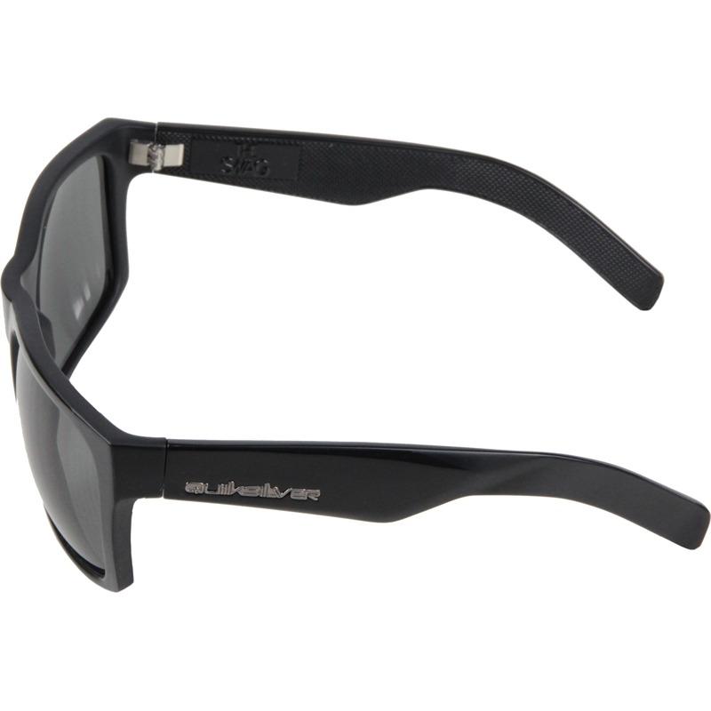 ce2805131bcf0 Óculos De Sol Quiksilver The Snag Inject Black Importado - R  344