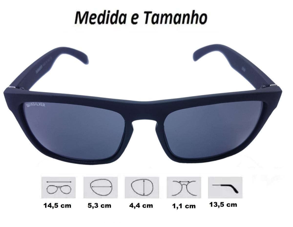 af583a567a68d Óculos De Sol Quiksilver Masculino Proteção Uv400 The Ferris - R ...