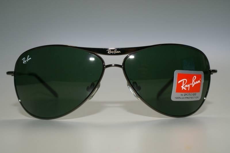 b45c382371572 ... 8015 armação preta lente verde · óculos sol ray ban. Carregando zoom.