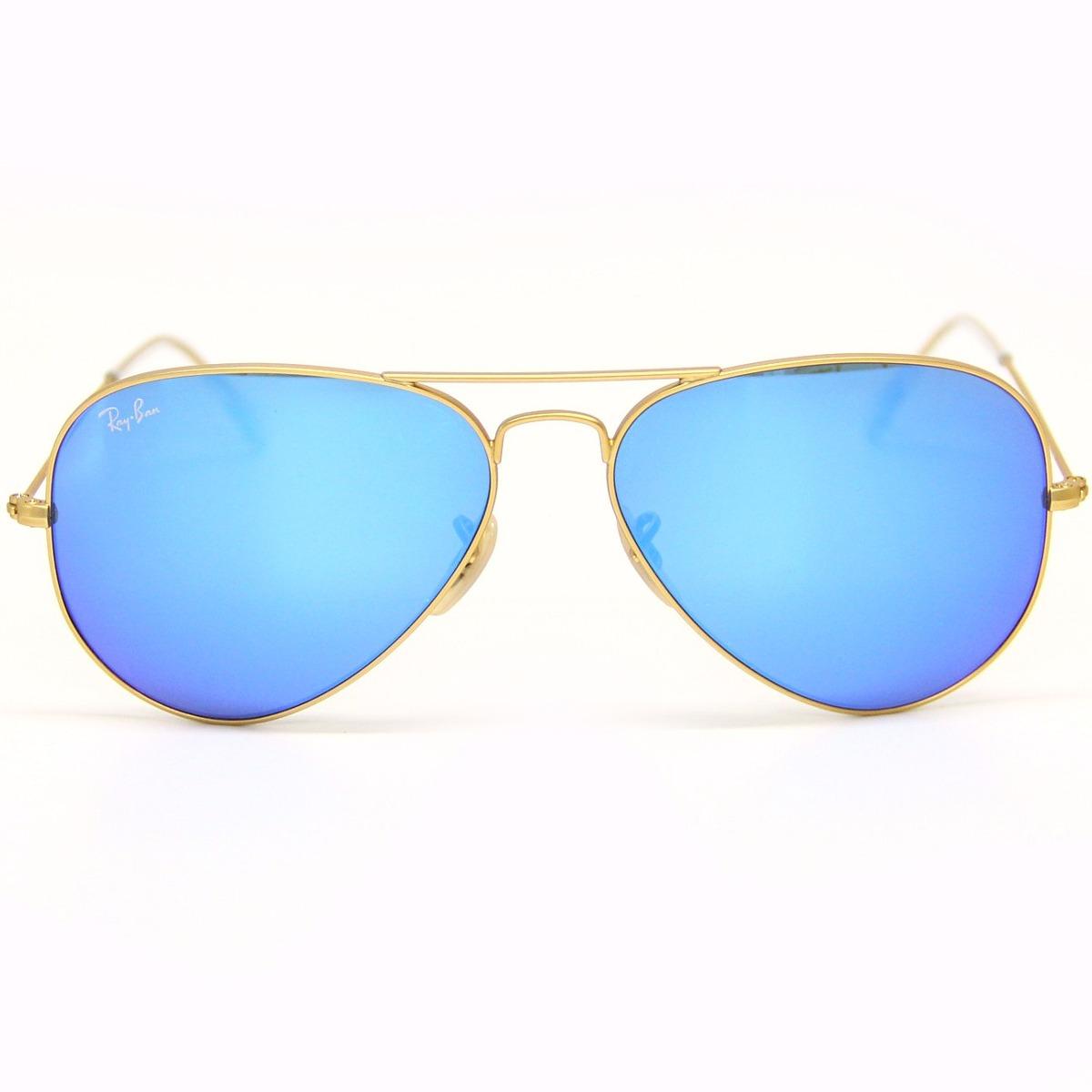 Óculos De Sol Ray Ban Aviador Rb3025 58 Cores... - R  499,00 em ... 9ad502c78b