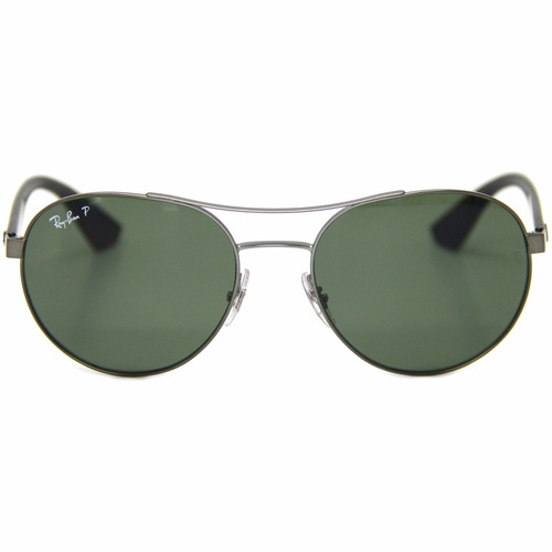... redondo lente verde polarizada 3536 02. Carregando zoom... óculos sol  ray ban 12daa9291f