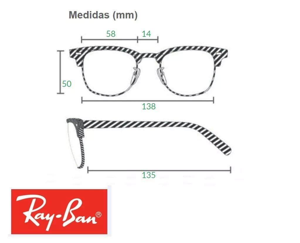 Óculos De Sol Aviador Ray Ban Top Rb3025 2823 Tam.58 55 - R  249,49 ... d9f90edd91