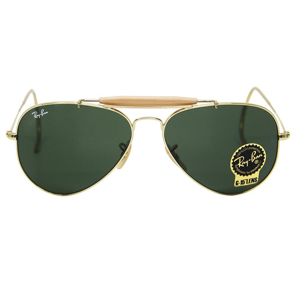 8af96fb7425f8 Óculos De Sol Ray Ban Outdoorsman 3030 Caçador - Promoção - R  569 ...