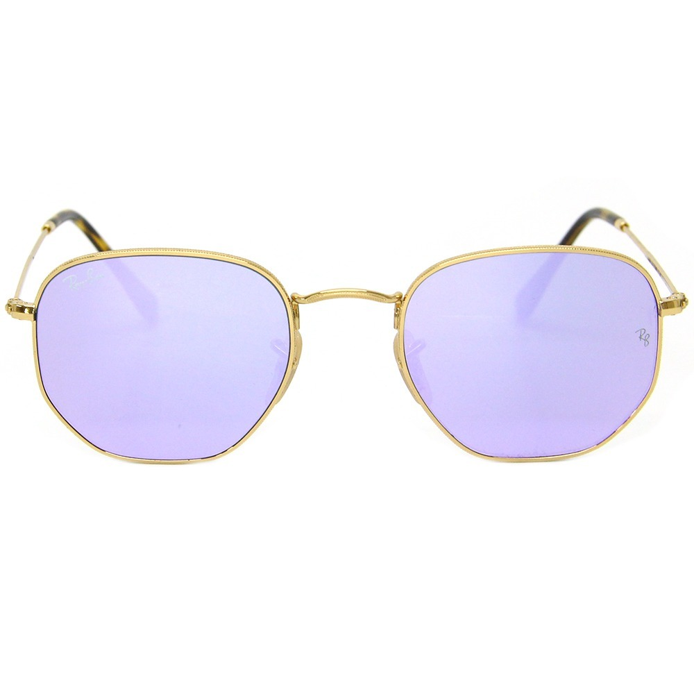 Óculos Sol Feminino Ray Ban 3548 Hexa - R  417,49 em Mercado Livre d07e22bf75