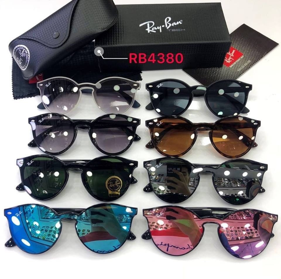 c86d50b7e65bc Óculos De Sol Ray Ban Rb 4380-n 6356 x0 Blaze - Lançamento - R  258 ...