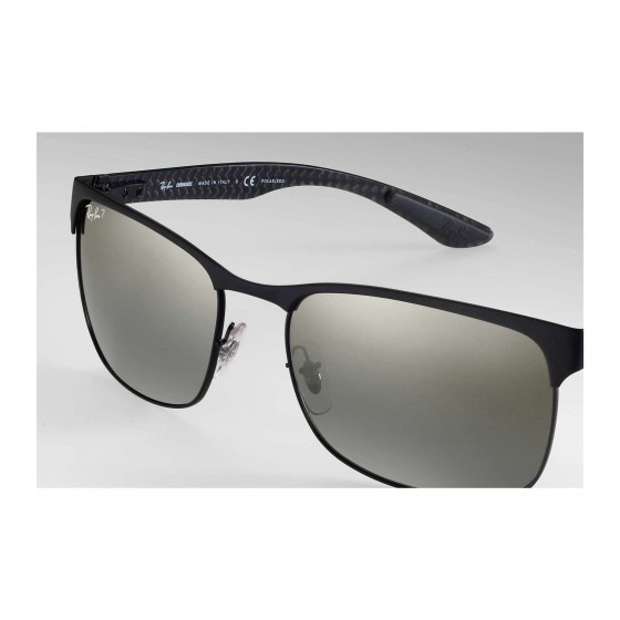 c5982a33a9931 Óculos De Sol Ray-ban Rb8319ch 186 5j Preto - Refinado - R  1.019,20 ...