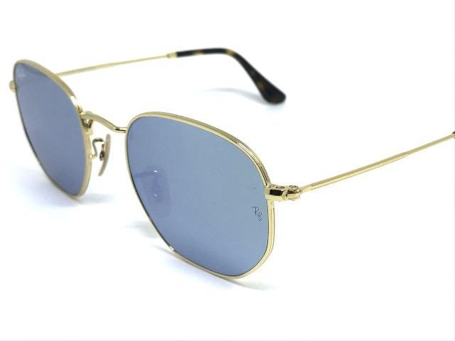 óculos de sol ray ban hexagonal rb 3548n 001 30 54 · óculos sol ray ban 992c544387