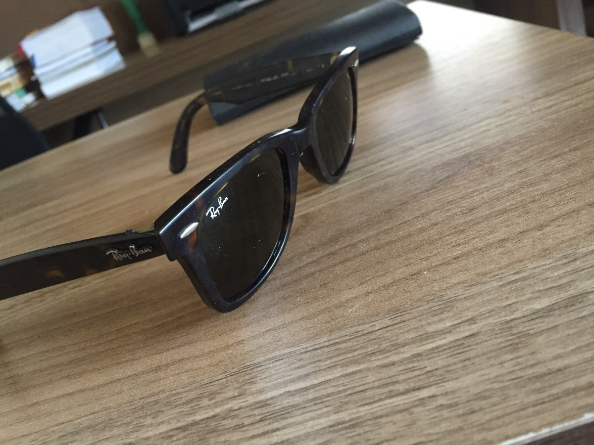 Óculos De Sol Ray Ban Original Lupa Legitima - R  100,00 em Mercado ... da48f68f6a