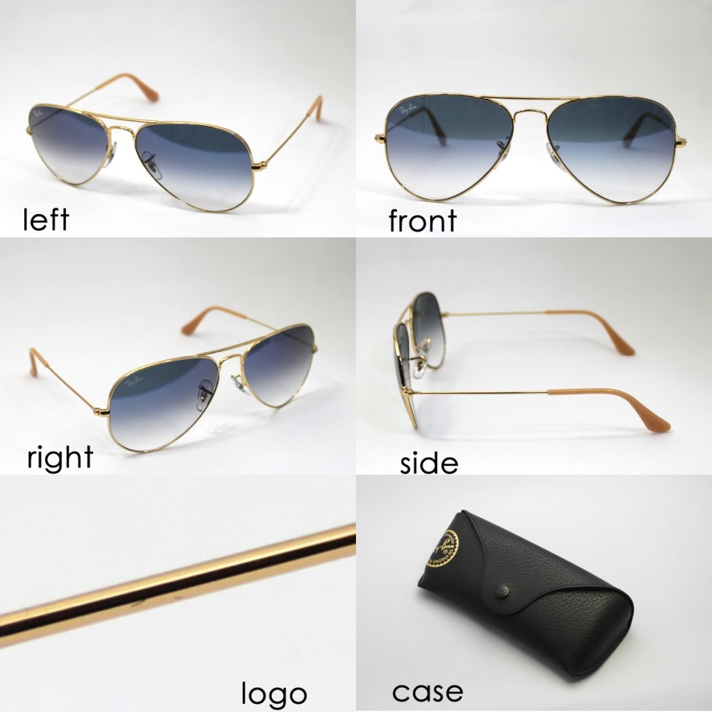2eb8098921 Óculos De Sol Ray Ban Rb3025 Aviador 5 Cores P 55 M 58 - R$ 319,00 ...