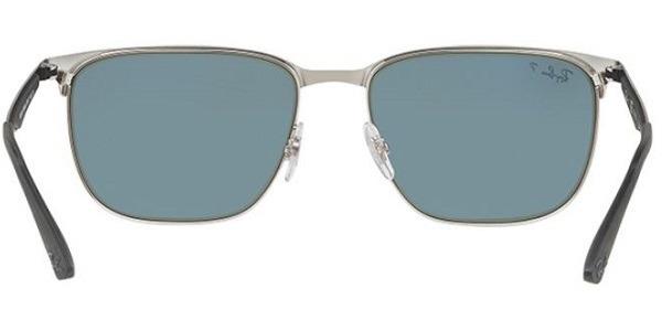 26ed16ad8a015 Oculos De Sol Ray-ban 3569 9004 Polarizado Quadrado - R  519