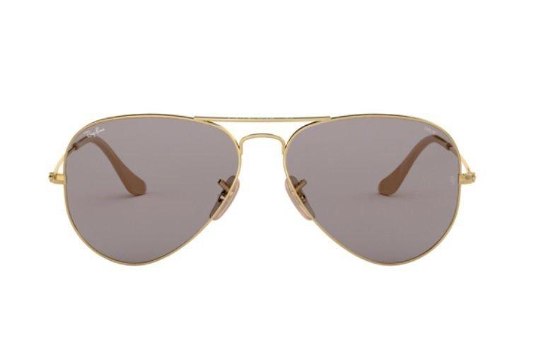 Oculos Sol Ray Ban Aviador Rb3025 9064v8 58 Fotocromatico - R  499 ... b07117279e