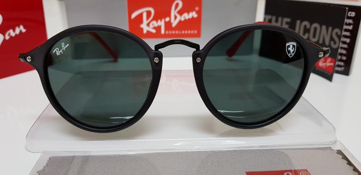 Óculos Sol Ray-ban Rb2447n-f Scuderia Ferrari Preto Clássico - R ... ee54408f77