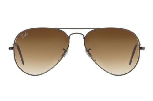 4db592b4d049c Oculos Sol Ray Ban Aviador Rb3025 004 51 58mm Grafite Marrom - R ...