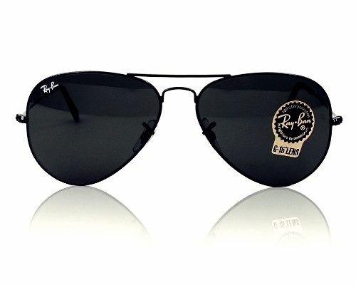 9157f9de8640e Óculos De Sol Ray Ban Top Aviador Unissex Tam (g) Promoção - R  315 ...