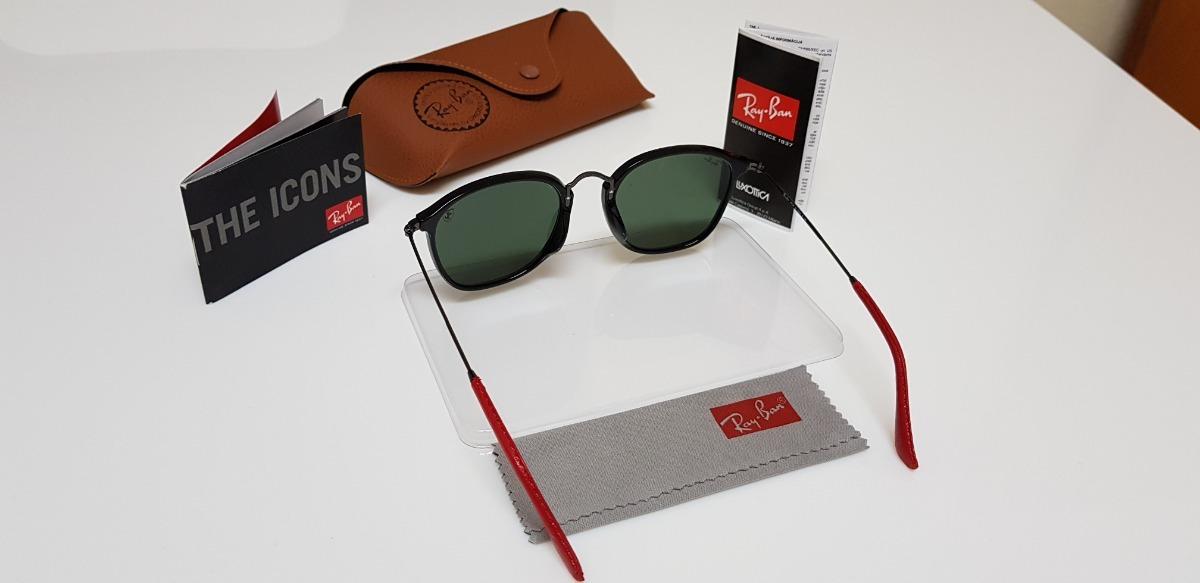 Óculos Sol Ray-ban Scuderia Ferrari Rb2448 Aço Preto E G15 - R  310,00 em  Mercado Livre cd5e613bf9