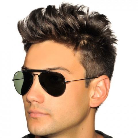 7a1d742bdaa2c Óculos Sol Ray Ban Aviador Caçador Preto Masculino Feminino - R  219 ...