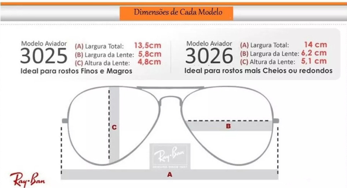 óculos sol ray ban aviador prata espelhado rb3025 - 50% off. Carregando  zoom. cc8f427208
