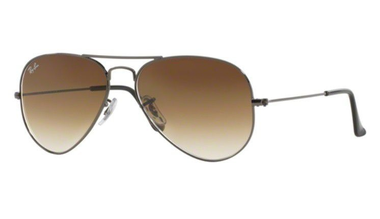 ca287e822e1e7 Oculos Sol Ray Ban Aviador Rb3025 004 51 58mm Grafite Marrom - R ...