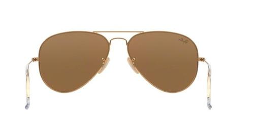 b4ab2c020b055 Oculos Sol Ray Ban Aviador Rb3025 112 93 58 Dourado Espelhad - R ...