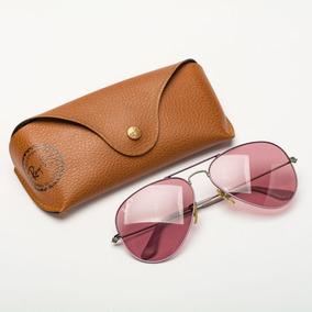 76816fb85 Oculos De Sol Otica Diniz Feminino Ray Ban Round - Óculos, Usado no ...