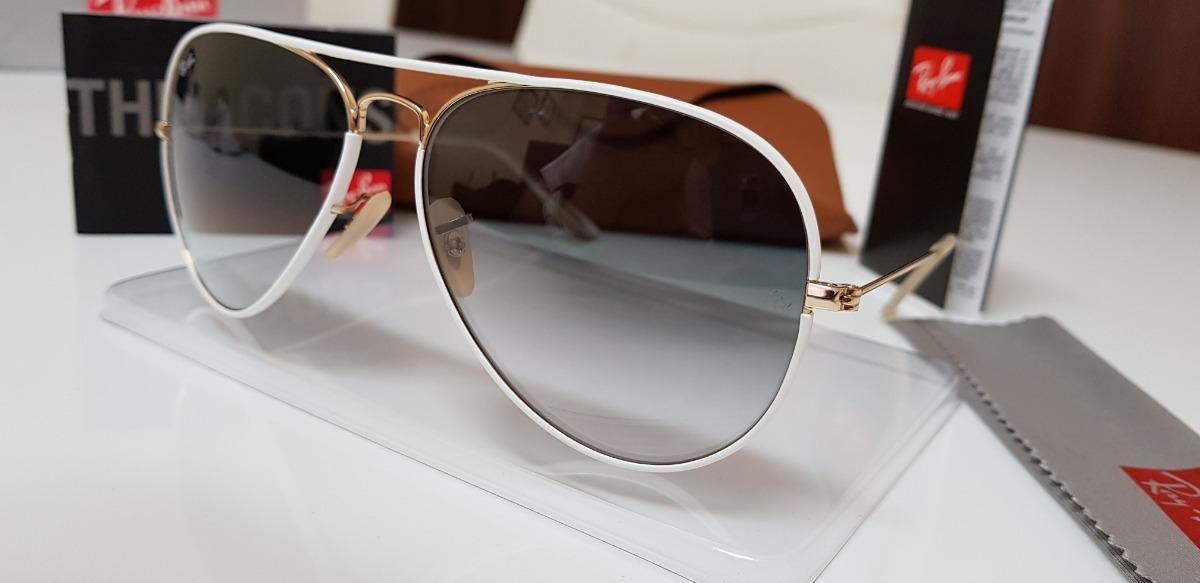 582d4a73aa551 ... full color rb3026 148 32 branco. Carregando zoom... óculos sol ray-ban  aviator. Carregando zoom.