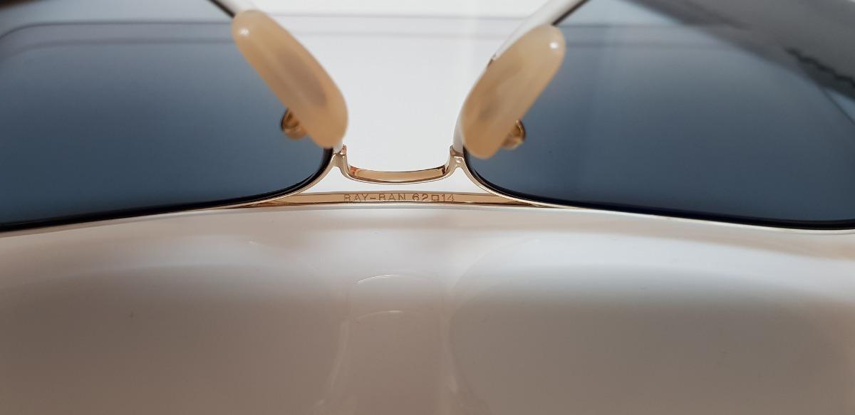 af9230b0ee742 óculos sol ray-ban aviator full color rb3026 148 32 branco. Carregando zoom.