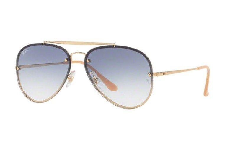 d15eb5cfecfc5 Oculos Sol Ray Ban Blaze Aviador Rb3584n 001 19 Azul Degradê - R ...