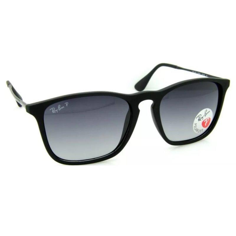 ba8a002cc5031 óculos sol ray ban chris 4187 masculino-feminino. Carregando zoom.