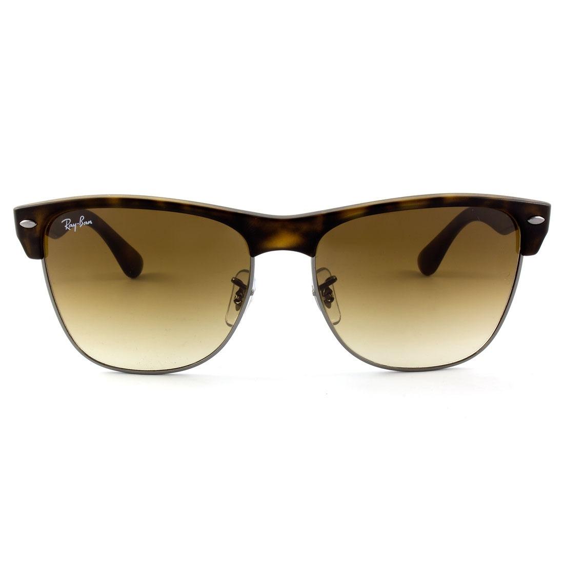 Óculos De Sol Ray-ban Clubmaster Oversized Rb4175 878 51 Or. - R ... 32bbdaf71e