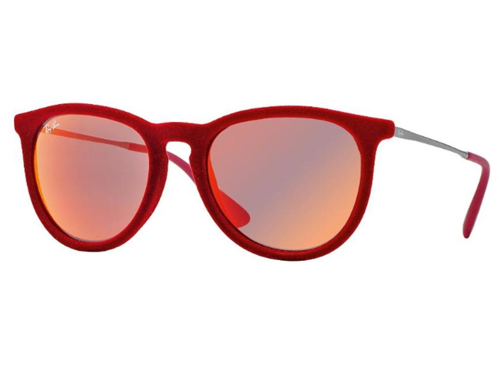 7e62f8cf01e0e Óculos De Sol Ray Ban Erika Velvet Veludo Rb4171 6076 6q 54 - R  570 ...