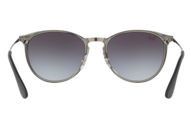 a88a3275ebf2d Oculos Sol Ray Ban Erika Metal Rb3539 192 8g Cinza Cinza Deg - R  389