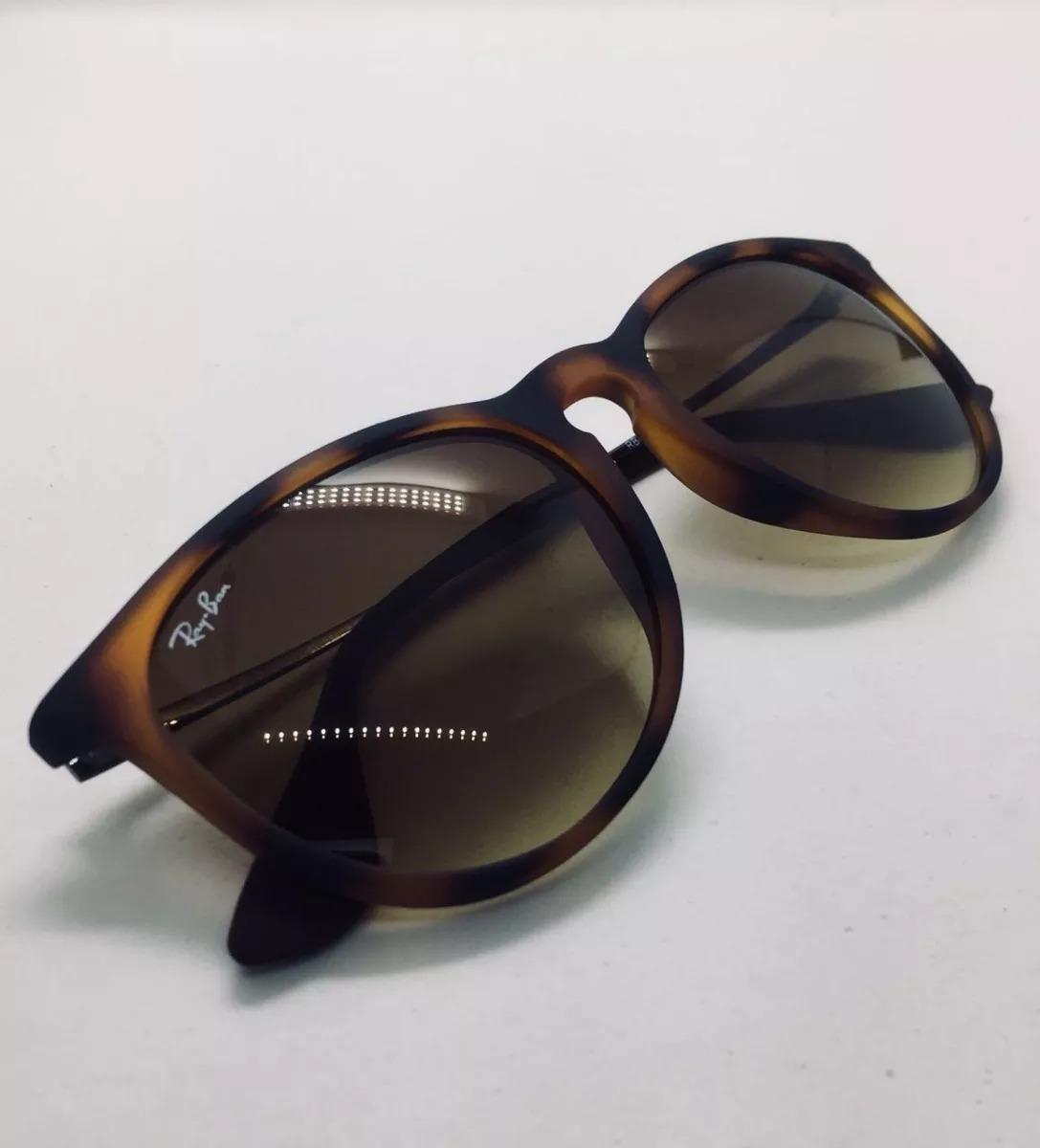 b06ca97eb Óculos Sol Ray Ban Erika Rb 4171 Tartaruga Original Feminino - R ...