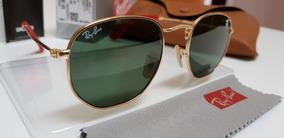 78999a661 Ray Ban Hexagonal Flat Len De Sol - Óculos no Mercado Livre Brasil