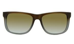 ... clássico marrom verde degradê. Carregando zoom... óculos sol ray ban  justin f079d2c804