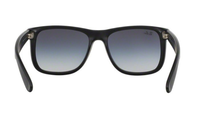 20cfe23b61925 Oculos Sol Ray Ban Justin Rb4165 601 8g 55mm Cinza Degradê - R  359 ...