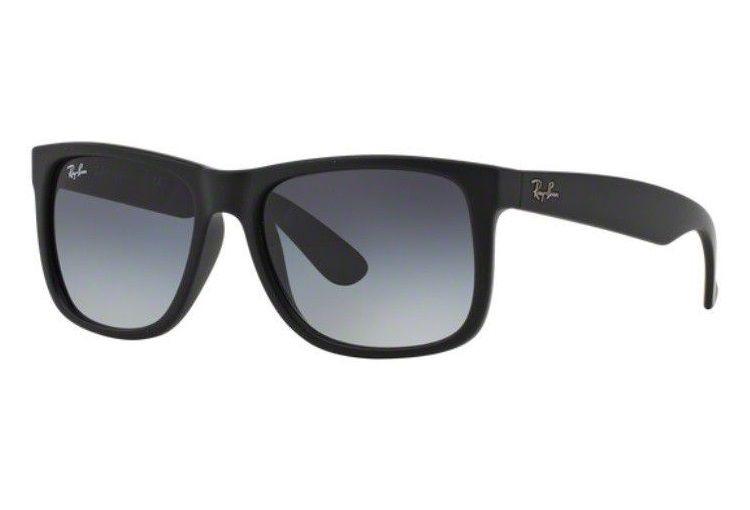 b8b556c18b Oculos Sol Ray Ban Justin Rb4165 601/8g 55mm Cinza Degradê - R$ 435 ...