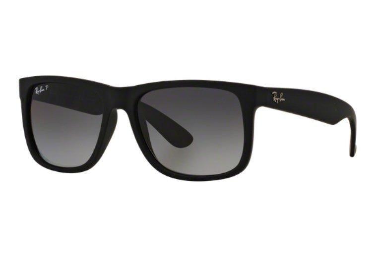 Oculos Sol Ray Ban Justin Rb4165 622 t3 57 Preto Polarizado - R  439 ... 17d582b72d