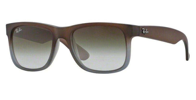 686ac24a19012 oculos sol ray ban justin rb4165 854 7z marrom cinza fosco. Carregando zoom.
