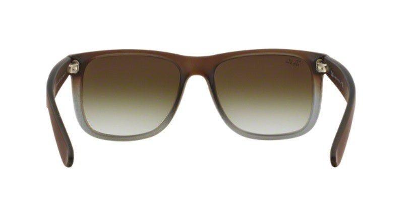 oculos sol ray ban justin rb4165 854 7z marrom cinza fosco. Carregando zoom. 8d422ef0e0