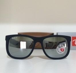 c57c2855ef7fd ... usa óculos sol ray ban justin rb4165 prata espelhado masculino 4bd11  5d499