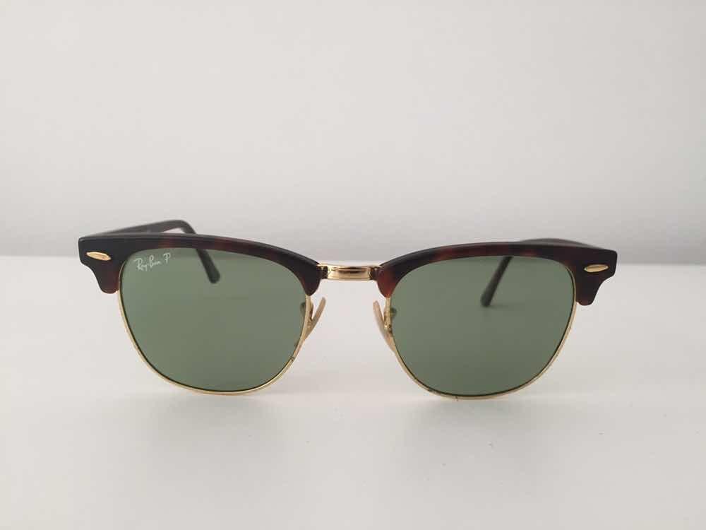 Óculos De Sol Ray Ban Polarizado Clube Master - R  350,00 em Mercado Livre f9ac0acc84