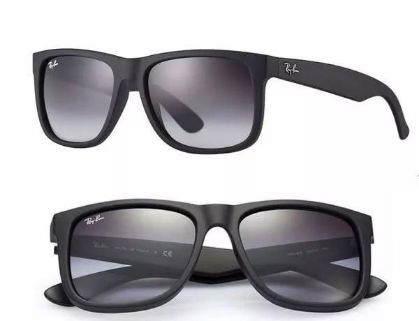 5d9cb41de514d Oculos Sol Ray Ban Rb 4165 Justin Preto preto Polarizado - R  197
