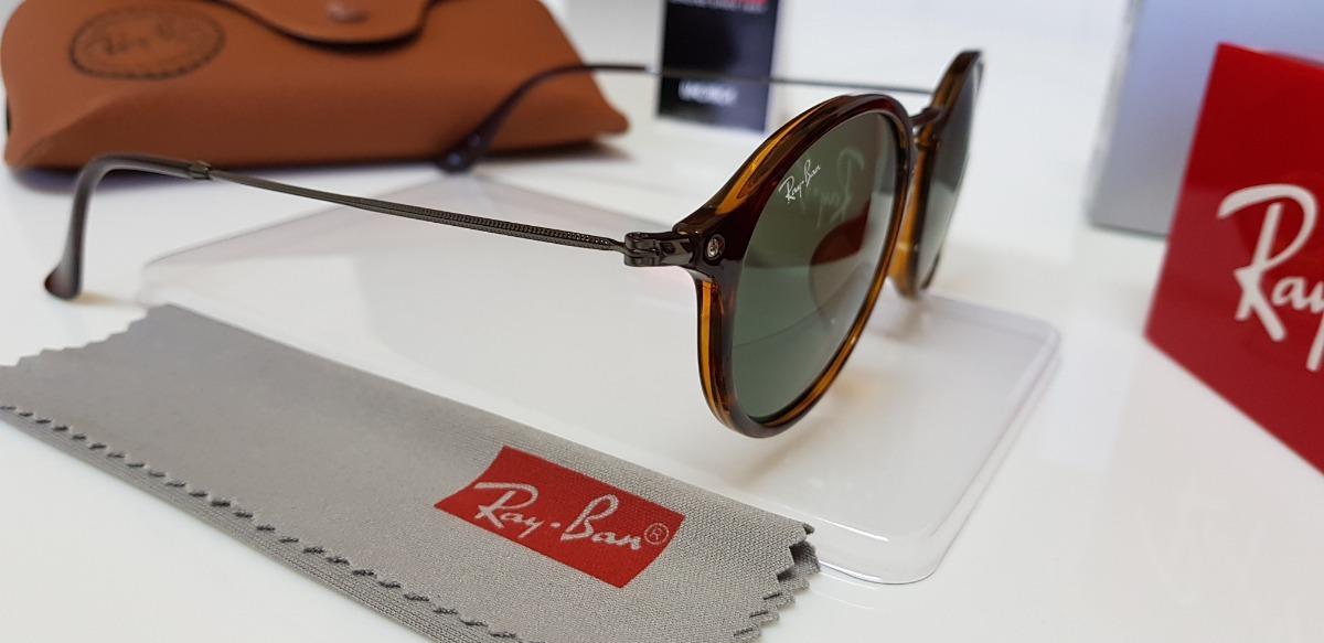 óculos sol ray-ban rb2447-f lente verde g15 com tartaruga. Carregando zoom. 9f1ad18594