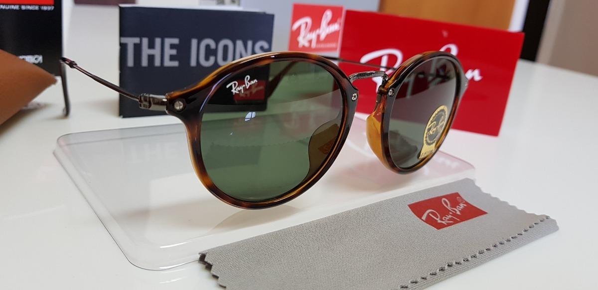óculos sol ray-ban rb2447-f lente verde g15 com tartaruga. Carregando zoom. efb8b3a399
