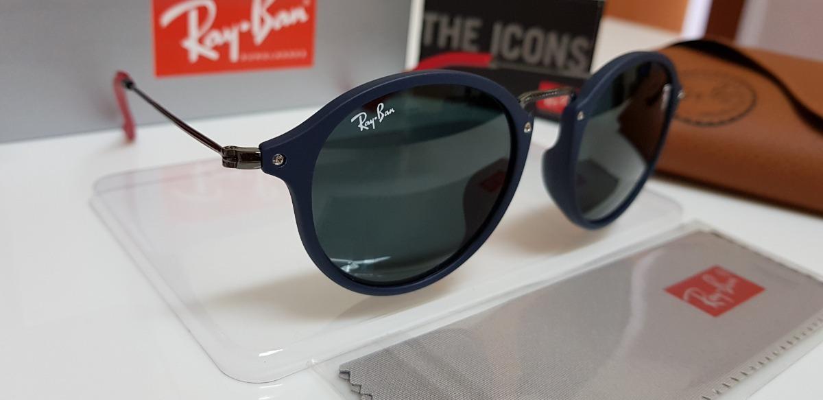 óculos sol ray-ban rb2447n-f scuderia ferrari azul e preto. Carregando zoom. 4d5a0c250f
