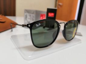 f38df573f2 Oculos Rayban Redondo Lente Preta - Óculos no Mercado Livre Brasil