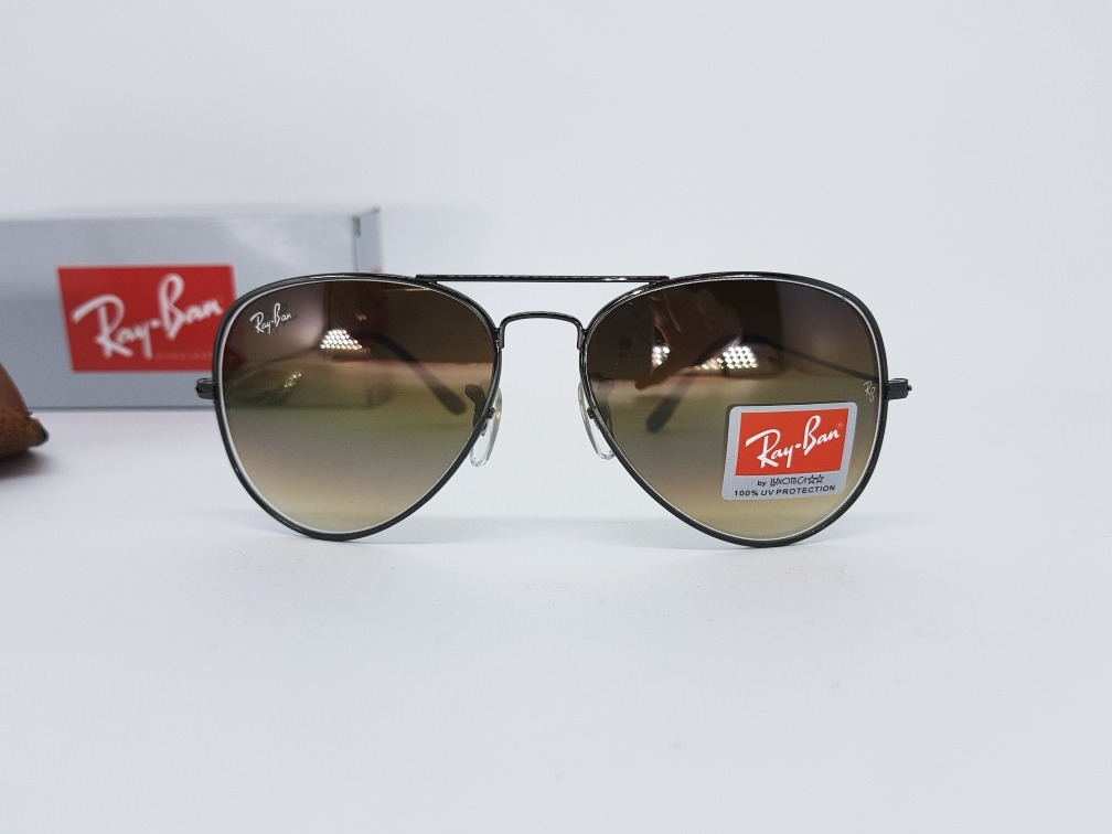 Óculos Sol Ray Ban Rb3025 Aviador Marrom 55 P Original - R  299,00 ... e7df51868e