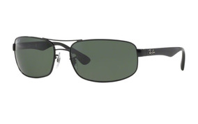 5ac4347fc Oculos Sol Ray Ban Rb3445 002/58 64mm Preto Verde Polarizada · R$ 549. 12x  R$ 45 sem juros