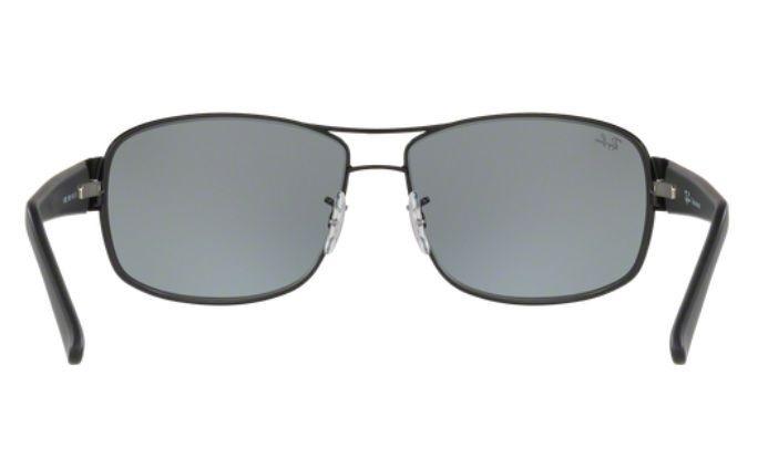 4543d6810553e Oculos Sol Ray Ban Rb3503 006 55 64mm Preto L Azul Espelhada - R ...